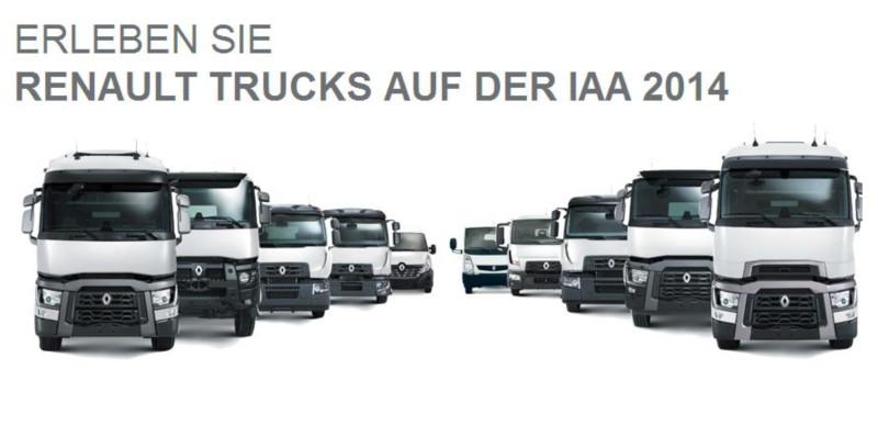 Renault Trucks IAA 2014